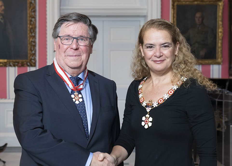 André Parent et Julie Payette